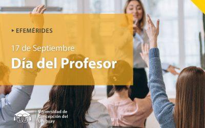 ¡¡¡ Feliz Día del Profesor!!!!