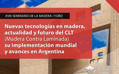 UCU realizará el Seminario del Foro de la Madera