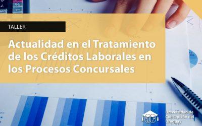 Capacitarán sobre créditos laborales en procesos concursales